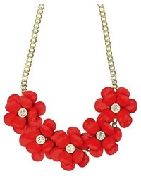 Statet Necklace Coralgold