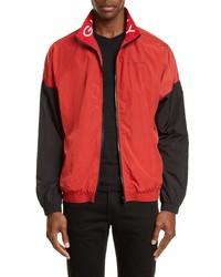 Givenchy Oversize Colorblock Nylon Track Jacket