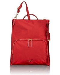 Tumi Voyageur Jackie Convertible Crossbody Bag Red