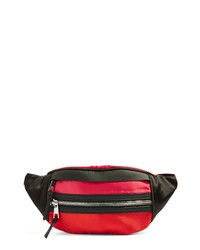 Topshop Barney Nylon Belt Bag