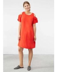Violeta BY MANGO Off Shoulder Dress