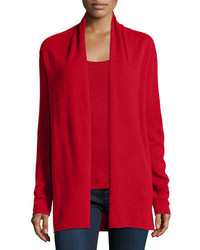 Cashmere collection cashmere draped cardigan medium 666413