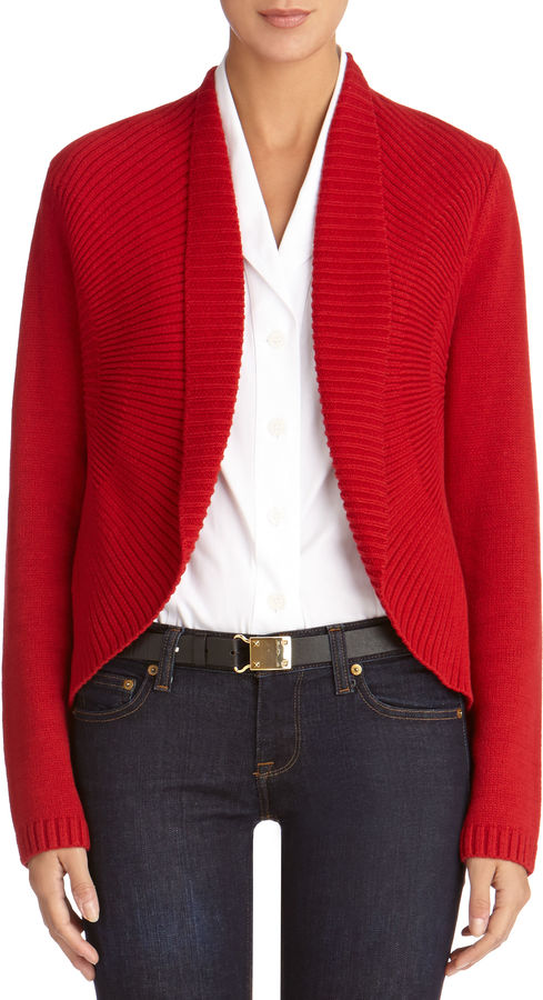 Jones New York Long Sleeve Open Front Cardigan Sweater | Where to ...