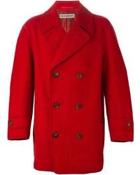 Issey miyake vintage double breasted coat medium 453135