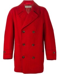 Vintage double breasted coat medium 453135