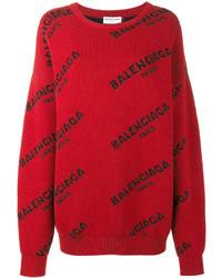 Balenciaga All Over Sweater