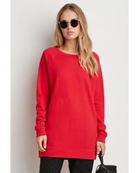 Forever 21 Longline Raglan Sweatshirt