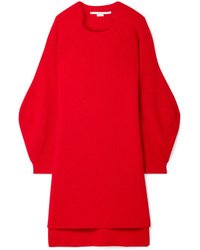 Stella McCartney Oversized Ribbed Wool Sweater