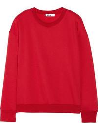 LnA Skater Distressed Modal Blend Sweatshirt