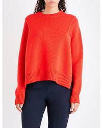 Victoria Victoria Beckham Split Sides Wool Jumper