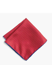 J.Crew Italian Linen Pocket Square In Paisley