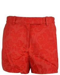 Robert rodriguez paisley print zipper dress shorts medium 672564