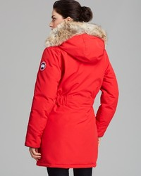 Canada Goose down outlet discounts - Canada Goose Montebello Slim Fit Down Parka With Genuine Coyote ...