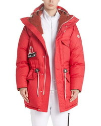 Moncler Dedion Quilted Hooded Parka
