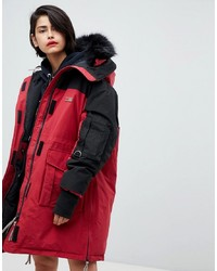Tommy Hilfiger Icon Colourblock Parka