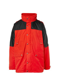Vetements Incognito Padded Cotton Blend Shell Parka