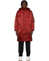 Études Red Ohio Coat