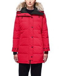Canada Goose Shelburne Fusion Fit Genuine Coyote Down Parka