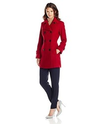 Anne Klein Classic Double Breasted Coat