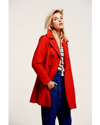 Free People Zip To My Lou Swing Coat