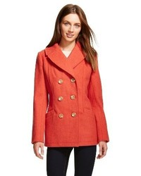 Merona Wool Blend Pea Coat Tm