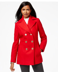MICHAEL Michael Kors Michl Michl Kors Double Breasted Peacoat