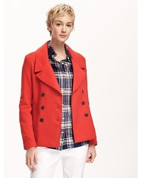 Old Navy Knit Peacoat For