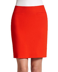 Akris Crepe Pencil Skirt