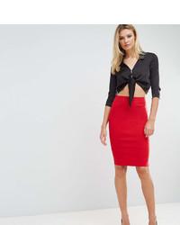 Asos Tall Asos Tall High Waisted Pencil Skirt