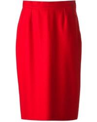Balenciaga Vintage Straight Skirt