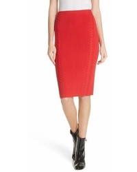 Brandy whipstitch pencil skirt medium 6988827