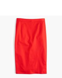 J.Crew Tall Pencil Skirt In Bi Stretch Cotton