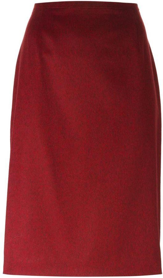 237dff0177 Jean Louis Scherrer Vintage Pencil Skirt, $140   farfetch.com ...
