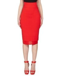 Givenchy Knit Pencil Skirt