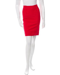 Stella McCartney Knit Pencil Skirt