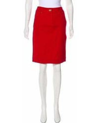 Lafayette 148 Mini Pencil Skirt
