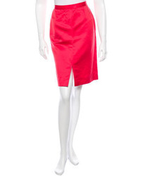Salvatore Ferragamo Mid Length Pencil Skirt