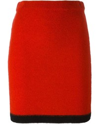Moschino Boutique Knitted Pencil Skirt
