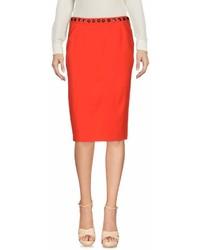 Moschino Cheap & Chic Moschino Cheap And Chic Knee Length Skirts