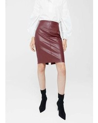Mango Opening Pencil Skirt