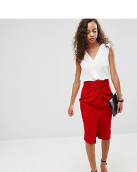 Asos Petite Petite Belted Pencil Skirt