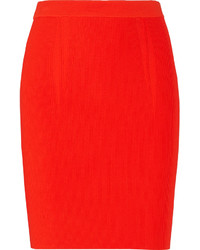 Alexander Wang Ribbed Jersey Pencil Skirt