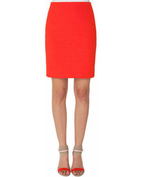Akris Structured Pencil Skirt With Zip Pocket