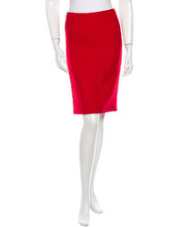 Versace Wool Skirt