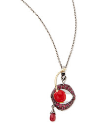 Stephen Webster 18k Gluttony Pendant Necklace With Rubies