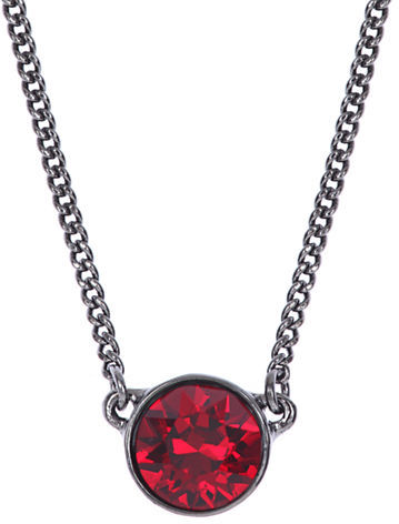 Givenchy hematite tone and red stone pendant necklace where to buy givenchy hematite tone and red stone pendant necklace aloadofball Gallery