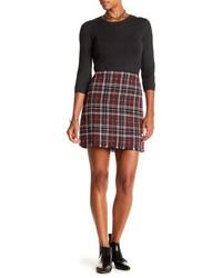 Sanctuary Siena Plaid Blanket Skirt