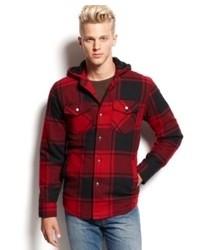 American Rag Jacket Plaid Shirt Jacket