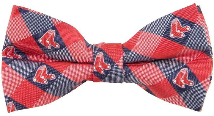 Boston Red Sox Red Oxford Woven Tie