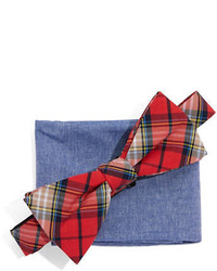 Original Penguin Bow Tie And Pocket Square Set
